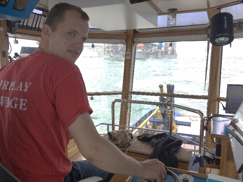 A captain has to take responsibility for the profitable operation of the tug